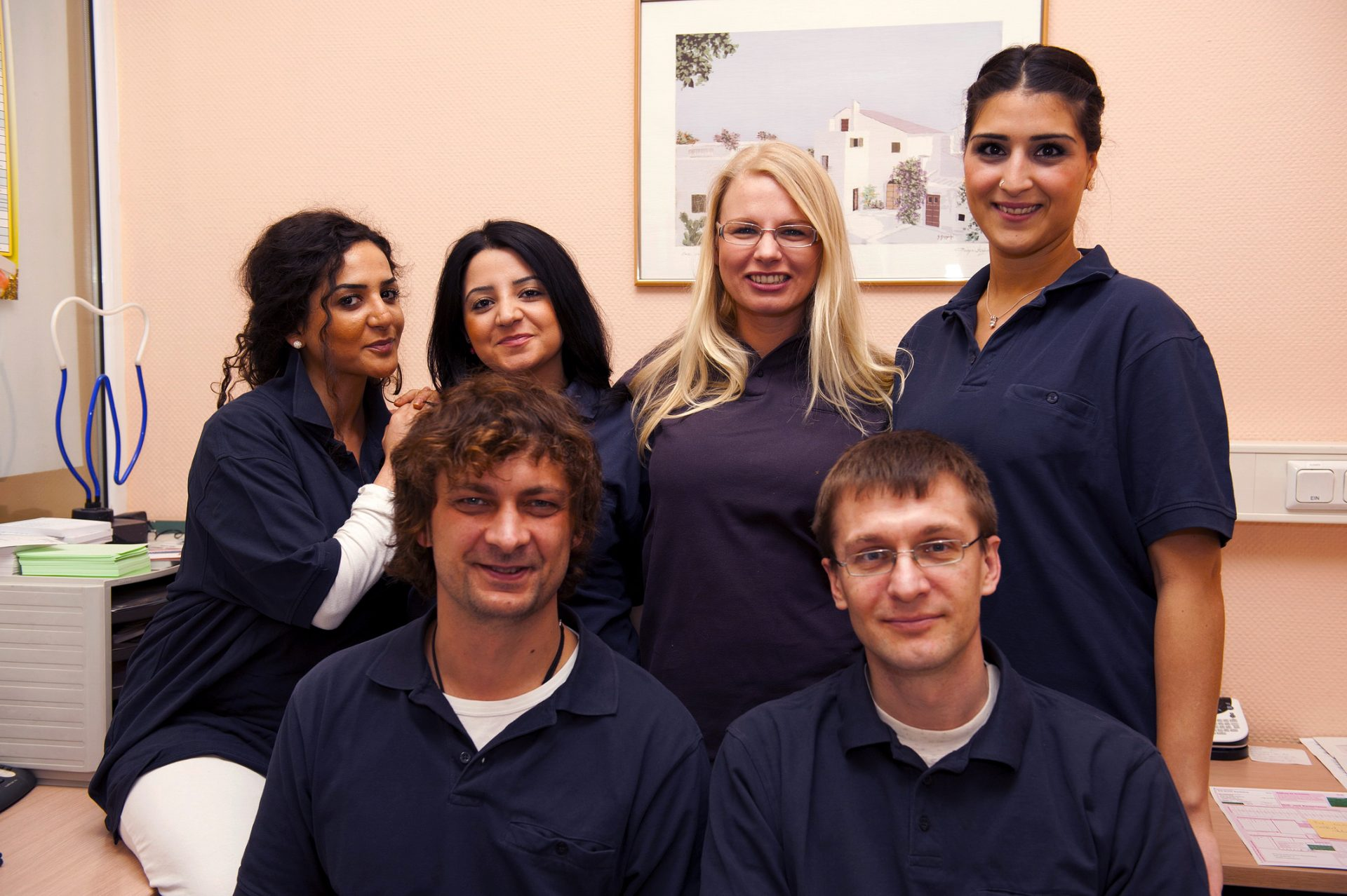Berliner Praxisteam von Dr. Popovici